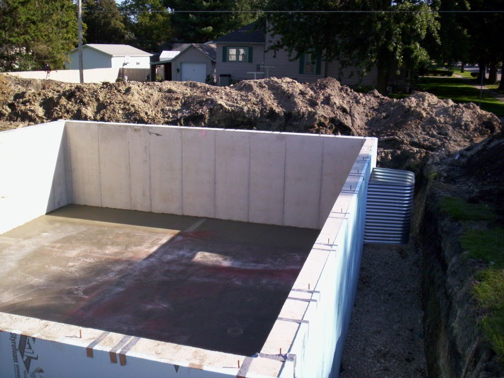 Photos for Insulating basement floor before pouring